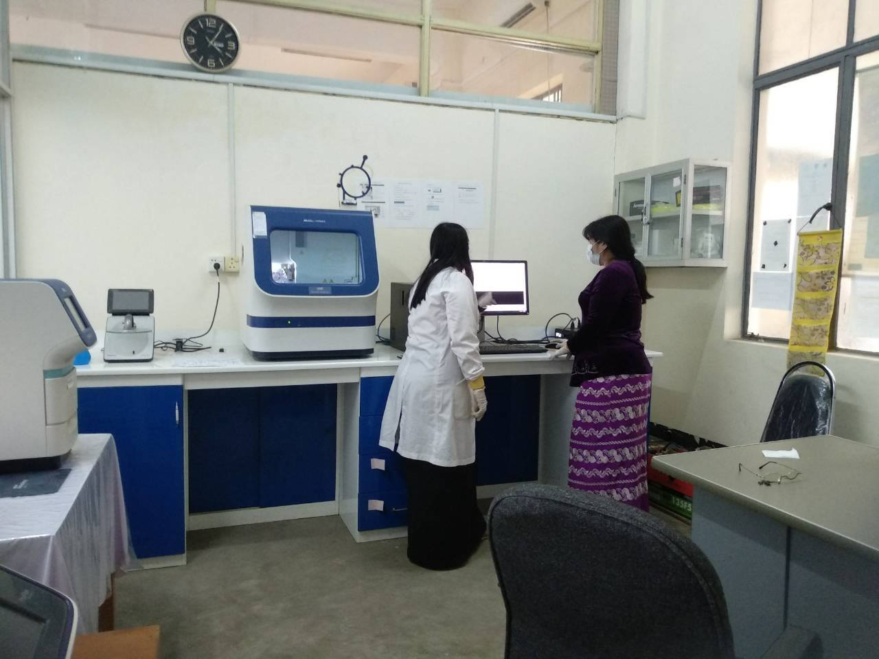 Sequencing Troubleshooting at Yangon University